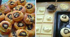 Ako od babičky. Koláčiky sú výborné, cesto je mäkké aj na druhý deň, ak vám z nich ostane :) Dobrú chuť. Czech Recipes, Ethnic Recipes, Salty Snacks, Vegetarian Cooking, Sweet Cakes, Sweet Recipes, Sushi, Muffin, Food And Drink