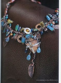 I love the casual, haphazard look of this piece. Very wearable with many outfits and colors. . Diana Frey: October 2008