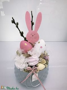 Decor Crafts, Diy And Crafts, Christmas Advent Wreath, Easter Recipes, Easter Eggs, Homemade, Crafty, Holiday, Pattern