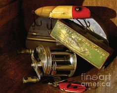 Grandpas Things    Artist  Lee Craig    Medium  Photograph - Photography    Description  The reel and lures, the small bait box...the fisherman's equipment from days gone by. Have the fish really changed that much, or is it just the fishermen?