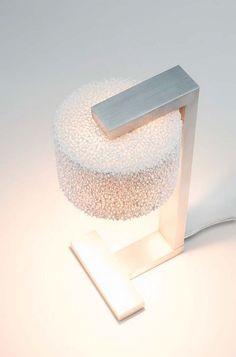 Serien Lighting Reef Table LED brushed aluminum