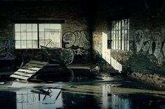 Abandoned Warehouse by *S-H-Photography