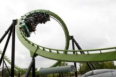 Green Lantern photo from Six Flags Great Adventure (Originally chang)