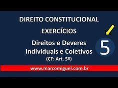 CONSTITUCIONAL - parte 05: artigo 5º - QUESTÕES