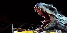 Rexy against the Indominus Rex Jurassic World