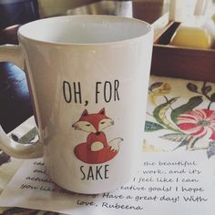 Oh @rubznaz, this really sums up the day! How serendipitous. I love it so much and it made me smile, thank you! #coffeeIsTheWayToMyHeart
