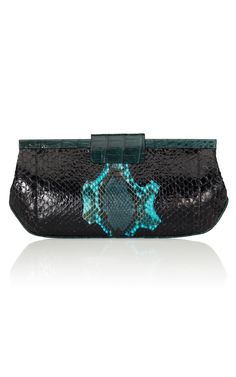 NANCY GONZALEZ  Python Evening Clutch
