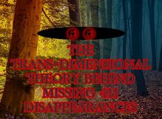 People often go missing in National forests but a former police officer noticed disturbing patterns among the unexplained disappearances. #missing411 #unexplaineddisappearances