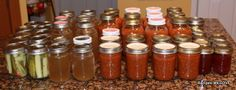 Canning Tips A Few TIPS that will make your canning easier and less MESSY