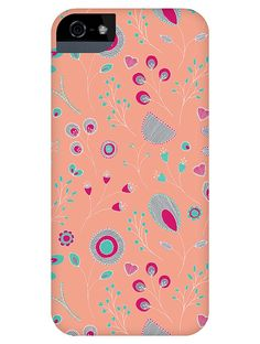 "Keka Classic Snap-on Phone & Tablet Cases - ""Summer Flowers"" by Rebecca Stoner"