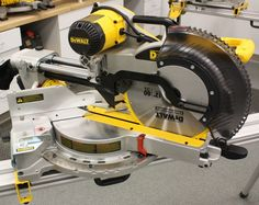 Dewalt Sliding Compound Miter Saw every Carpenters Dream Saw !! Anything you wanna build this thing can cut it to just the perfect angle and size AWESOME TOOL !