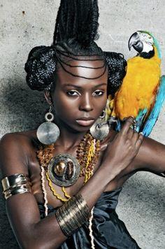 Modèle : Luana Maquillage : Valérie Baldacon, audrey@Dapurpleoriginale Coiffure : Aimée Keissa(6 of 21)#BLACKWOMEN