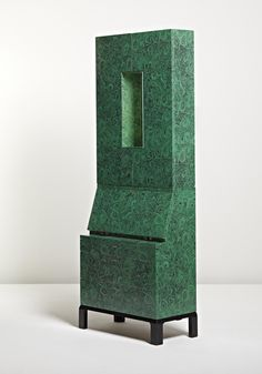 """View Rare illuminated """"Malachite"""" trumeau by Piero Fornasetti sold at Design Masters on 15 December 2010 New York. Learn more about the piece and artist, and its final selling price Art Furniture, Design Furniture, Contemporary Furniture, Decoration, Art Decor, Home Decor, Piero Fornasetti, Table Design, Wood And Metal"""