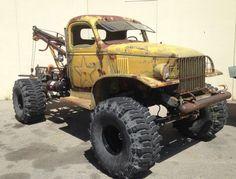 1942 Chevrolet G506 4X4 rat tow truck