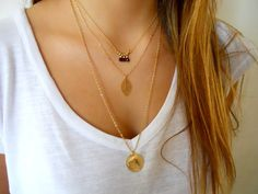 Layered Gold Necklace Set Pick Your Combo Of by annikabella