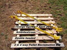 Pallet Stripping Bars for sale.