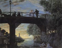 Boris Mikhailovich Kustodiev - ) Photo Art, Art Masters, Fine Art Painting, Oil Painting Landscape, Painting, Street Scenes, Russian Impressionism, Art, Realism Art
