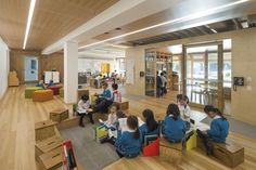 Educational Architecture Award - Our Lady of the Assumption Primary School Stage 1 by BVN. Photo by Brett Boardman.