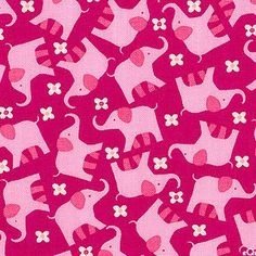 Benartex - Bella Morocco - Elephant Dreams Fuchsia