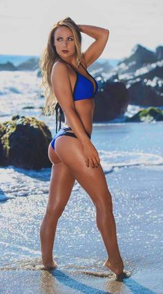 Hot Bikini, Bikini Girls, Bikinis, Swimsuits, Swimwear, Lace Swimsuit, Wrestling Divas, Great Legs, Hot Blondes
