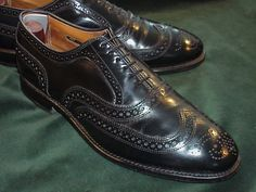 The dress shoe Lief is obsessed with. Otherwise known as a Allen Edmonds McAllister wing-tip