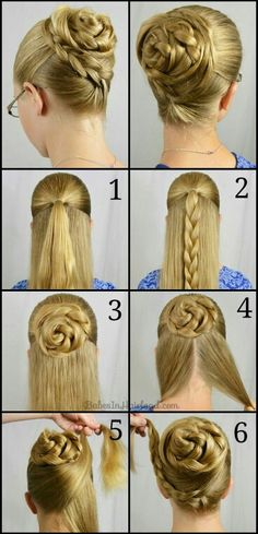How to Curl Your Hair With a Curling Iron (full head tutorial) . Casual Half Up Hair Tutorial (+ polka dots!) Quick Curls and a Headband Hair Tutorial affiliate link Dance Hairstyles, Braided Hairstyles, Braided Updo, Step Hairstyle, Simple Hairstyles, Wedding Hairstyles, Bun Braid, Bun Updo, Hairstyle Short