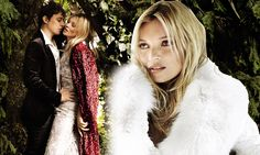 Inside the most fashionable wedding of the year: Mario Testino captures intimate moments from Kate Moss wedding