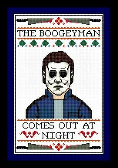 Halloween Cross Stitch Sampler