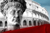 """""""The Roman Empire""""  This site focuses on the Roman Empire in the first century.  It features a timeline that runs from 60 B.C. to A.D. 180, a virtual library where students can read excerpts from the work of Tacitus, Petronius, and Pliny the Younger and find information on daily life, social order, and religion in Ancient Rome."""