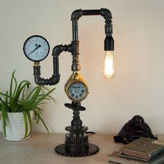 φωτιστικά vintage industrial Kitoko