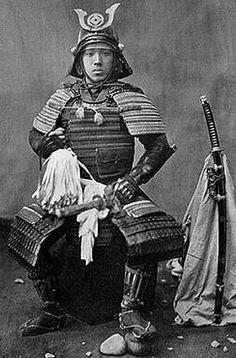 Baron Raimund von Stillfried Samurai in armor 1870-1875