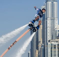 X-JETS JETBLADE - A SERIOUS ALTERNATIVE TO THE JETOVATOR --> Check out X-Jetpacks Jetblade, a powerful water-propelled ride that will propel you three stories above the #water and give you 15-30 minutes long #ride! More on www.jebiga.com
