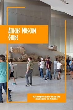 Museums in Athens - A Complete Guide to All the Museums in Athens #athens #athensgreece #greece #greecetravel #thingstodoinathens #thingstodoingreece #europe #europetravel #cityguide #museum #museums #museumguide