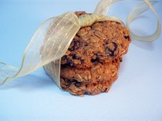 GF oatmeal cookies (uses agave, coconut and buckwheat flours)