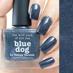 Picture Polish Blue Dog Nail Polish