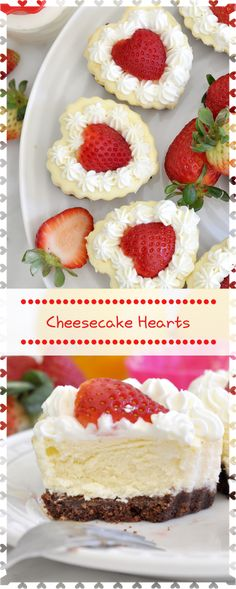 Impress your Valentine with one of these simple yet so delicious heart-shaped cheesecakes Made with LOVE