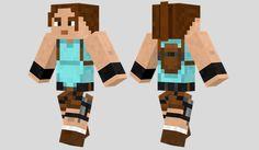 Lara Croft Skin para Minecraft
