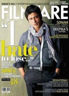 SRK on Filmfare. Photo by Dabboo Ratnani