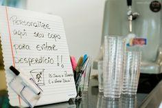 Personalize aqui seu copo!