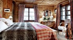 Traditional ski chalet for rent in Klosters with housekeeper & chef