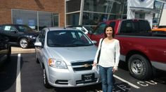 Kristen I am glad you contacted me. I am thrilled for you that everything worked out so well.  Now you have a good car with a warranty and everything:) I am happy to have you as my client.  Congrats on your new Chevrolet aveo!   Jay Grosman Www.TalkingCarsWithJay.com Bommarito St.Peters