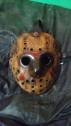 Modelo Freddy VS Jason sem as marcas das garras do Freddy Krueger.