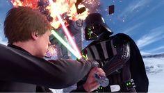 Galaxy Fantasy: Star Wars:Battlefront, tráiler del videojuego con escenas de la batalla de Hoth