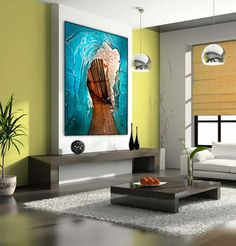 Living room art - colors