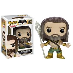 This is a Funko POP Vinyl Batman Vs Superman Aquaman Figure that's produced by Funko. It's super cool to see Aquaman in Funko POP Vinyl form. Aquaman is underrated. Fans are super excited for the new
