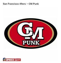 NFL/WWE: CM Punk
