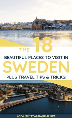 Top 15 Places to Visit in Sweden Top 15 Places to Visit in Sweden<br> Interested to visit the most sophisticated Nordic country in Europe? Check out these top 15 places to visit in Sweden that may interest your wanderlust! Sweden Places To Visit, Visit Sweden, Beautiful Places To Visit, Cool Places To Visit, Places To Travel, Places To Go, Amazing Places, Travel Things, Europe Destinations