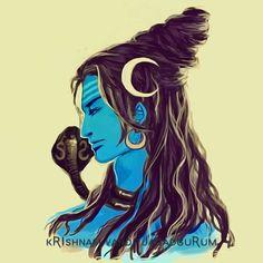 Lord Shiva Sketch, Shiva Shakti, Krishna Art, Disney Characters, Fictional Characters, Disney Princess, Gallery, Roof Rack, Fantasy Characters