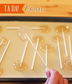 Liquor Lollipops Recipe {Holiday Hostess Gift Idea} // Hostess with the Mostess® - don't know why I'm pinning this...seems like it might come in handy sometime...football party? Grown up birthday party? Probably not, but you never know...