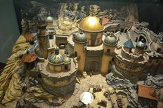 Disney Imagineering, Disney's  Explorers Landing Fortress  Disney Tokyo Seas  Conceptual miniature model